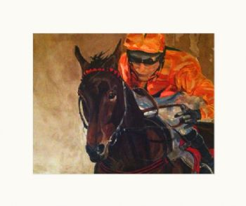 Orange Racing Silks